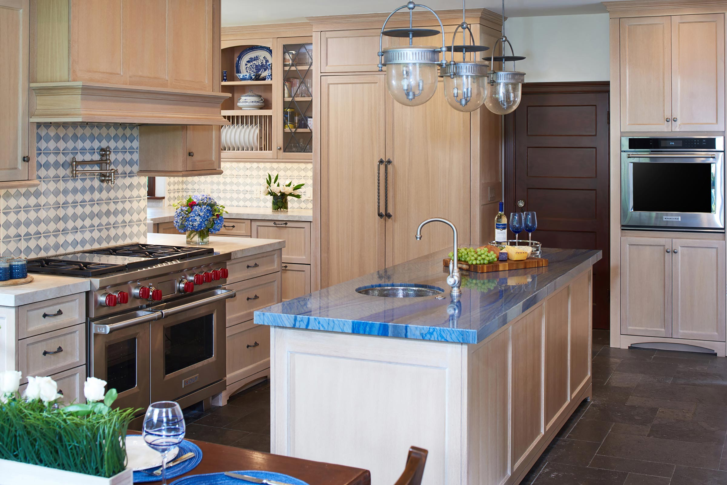 Transitional Kitchen Design Remodel By Cynthia Bennett Associates