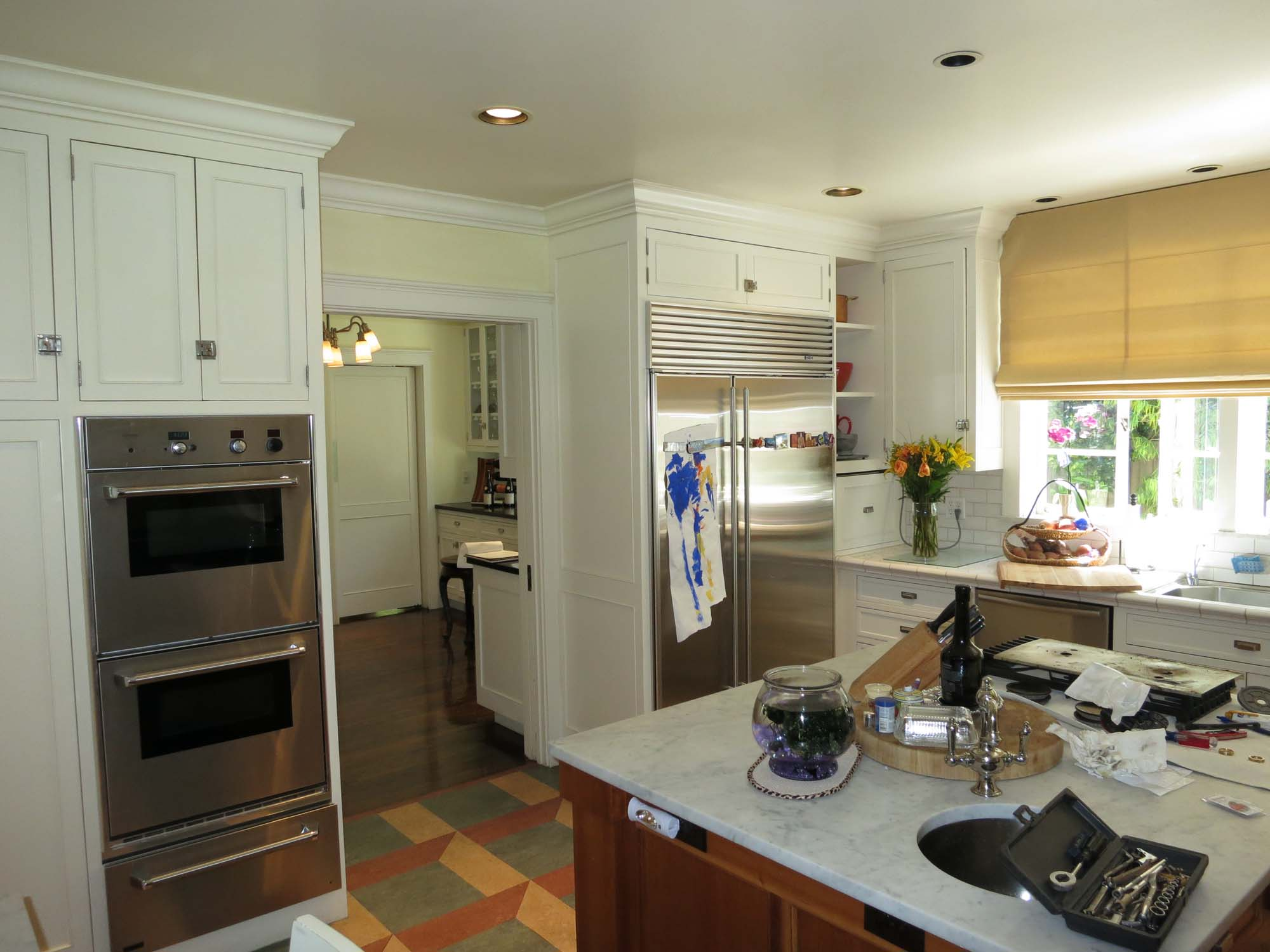 San Marino Colonial Kitchen - Before